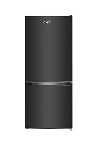 CHiQ FBM117L - Frigorífico Combi117L (87 + 30), Altura 1.14m, Low Frost, Puertas Reversibles, Color Negro, 38 db, compresor con 12 años de garantia, A +