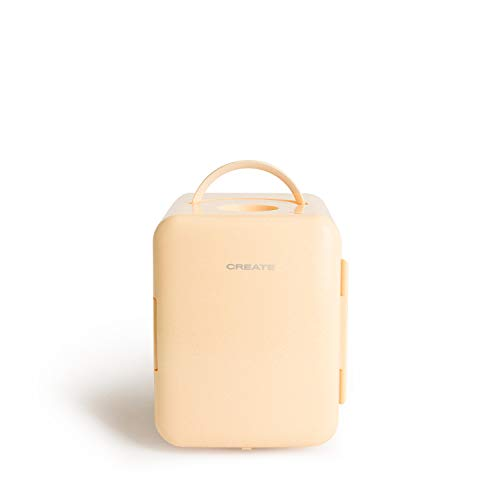 CREATE IKOHS FRIDGE MINI BOX - Mini frigorífico frío y calor (Amarillo)