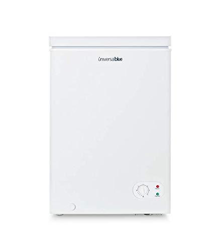 UNIVERSALBLUE - Congelador Dual - Volumen 100 litros - Congelador eficiencia energética A+ - Congelador Vertical - Congelador Arcón 2 en 1
