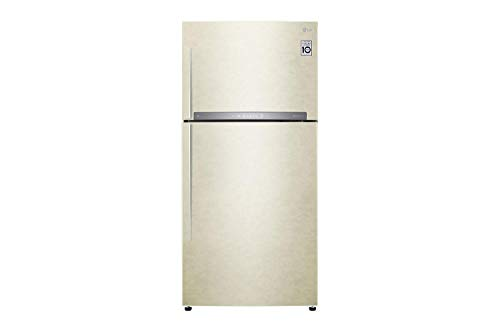 GTF916SEPY nevera de doble puerta capacidad 592 litros Clase A + refrigeración sin escarcha color arena