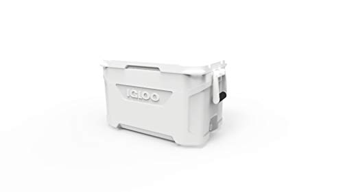 IGLOO Marine Latitude Nevera, Outdoor, Blanco, 47 litros