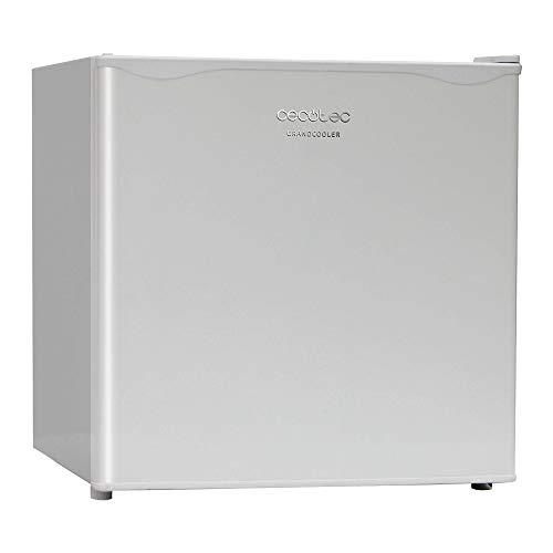 Cecotec Minibar GrandCooler 20000 SilentCompress White. Capacidad 46 litros, Compresor incorporado, Temperatura regulable, Clasificación energética A+