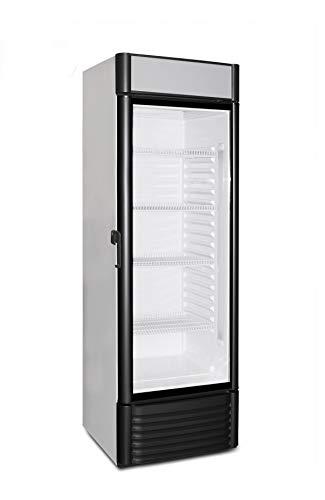 Frigorífico con puerta de cristal con 310litros de capacidad, para bebidas, para negocios o para restauración