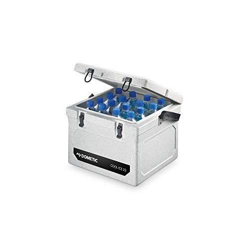 Dometic COOL ICE WCI 22 - Nevera pasiva alta resistencia, 22 litros de capacidad, con cierre especial que evita la pérdida de frío
