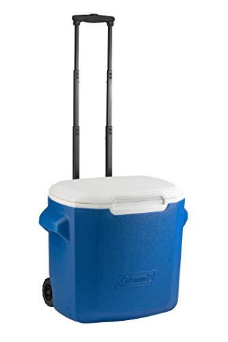 Coleman 28 QT Performance Wheeled Cooler - Nevera con Ruedas, Capacidad de 26 litros, Nevera Portatil y Rigida, Porta Alimentos