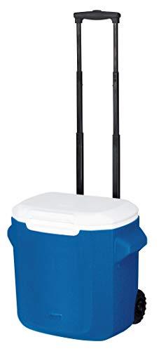 Coleman - Nevera portátil con Ruedas (16 QT/28QT) Caja térmica de 15/26 l de Capacidad, Unisex, Nevera portátil, Azul, 16 QT