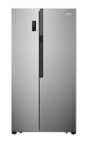 Gorenje NRS 918 EMX/Side by Side nevera congelador/NoFrost/A++/178,6 cm/321 kWh año/174 L Pieza congelador / 334 L nevera/Sistema de refrigeración multiflujo