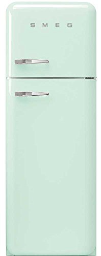 Smeg FAB30RV1 Independiente 293L A++ Verde nevera y congelador - Frigorífico (293 L, SN-T, 3 kg/24h, A++, Compartimiento de zona fresca, Verde)