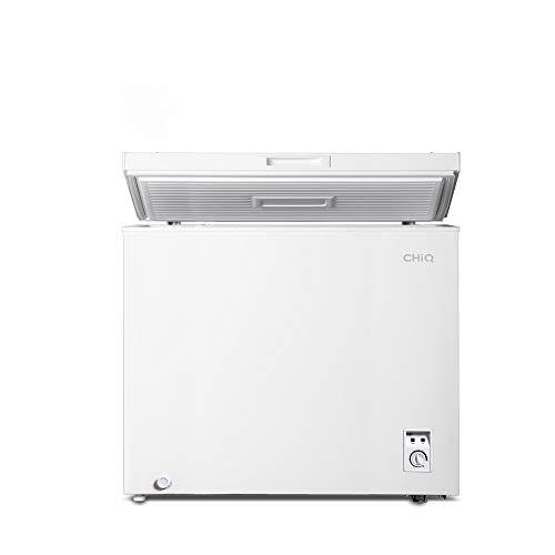 CHiQ Congelador FCF142D, 142 litros, blanco, bajo consumo, 40 db, 12 años de garantía en el compresor (142 Litros)