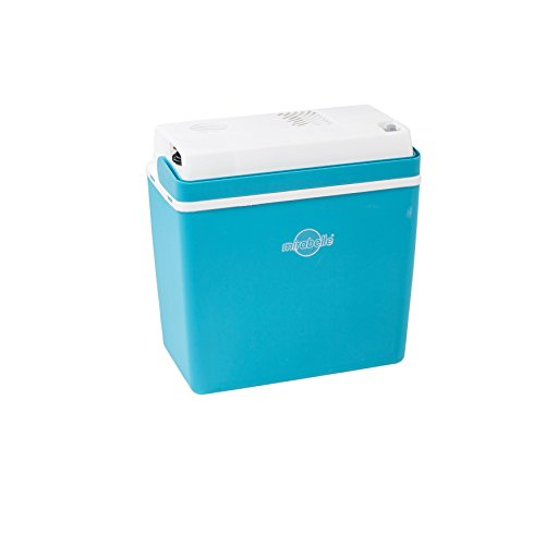 Ezetil 770620Mirabelle E24nevera Termoeléctrica Caja 12V, Aquamarin Azul, Capacidad: 21L