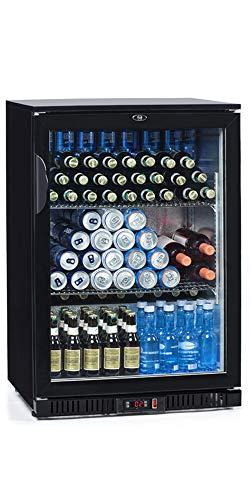 FrosterBeer 01 · Nevera de bebidas · (128L, 60x95,2x54cm, NO FROST, LED, RUEDAS)