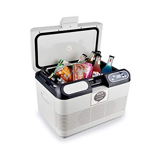KKmoon Refrigerador Coche 15L Congelador Nevera 220V,Mantener Caliente y Fresco,Refrigerador para Camping Hogar Coche