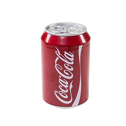 Coca-Cola Mini Nevera 525600, 47,7cm de Altura, 12/230V, roja