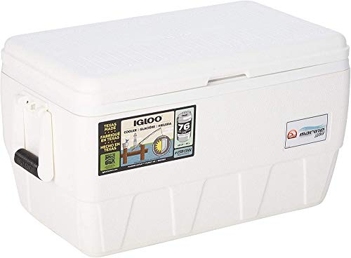 Igloo Marine Ultra 48 Nevera, 45 litros, Blanco