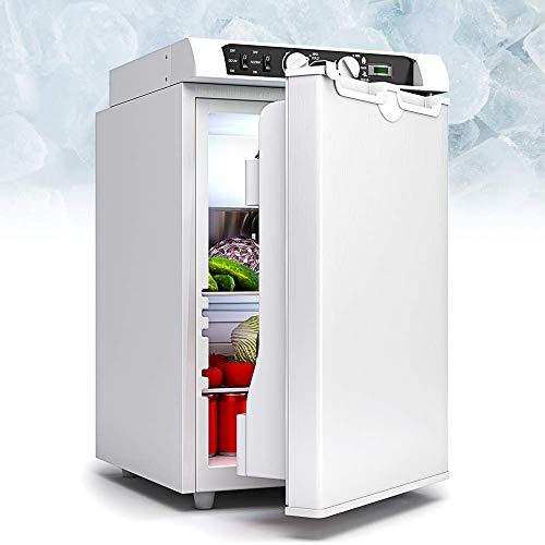 Bluefin Mini Nevera Congeladora Trivalente de absorción de 43 litros AC | DC | Nevera a Gas | 12v | 230v | LPG | Nevera Portátil Ideal para Camping, Viajes | Coche, Campervan, Motorhome