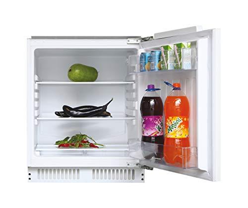 Candy CRU 160 NE/N, Frigorífico pequeño de integración, Sin congelador, 135l, Iluminación interna, Puerta reversible, 40dba, Clase A+, Blanco