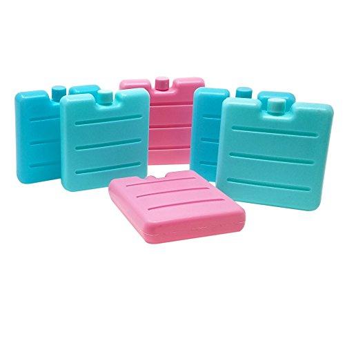 ToCi–pequeños acumuladores de frío en azul, rosa y verde | Mini acumuladores para nevera portátil | acumuladores de frio para fiambreras, 6