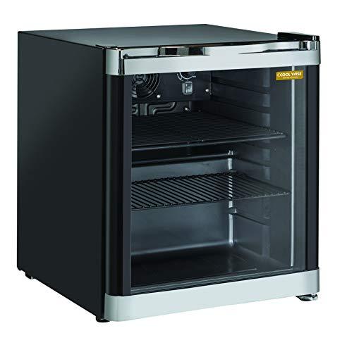 Cool Wise, Frigorífico de mostrador, clase D, 52 L, 39 dB, negro, 500 x 430 x 510 mm