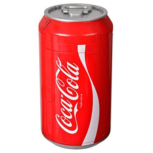 Mini nevera con forma de lata Coca-Cola