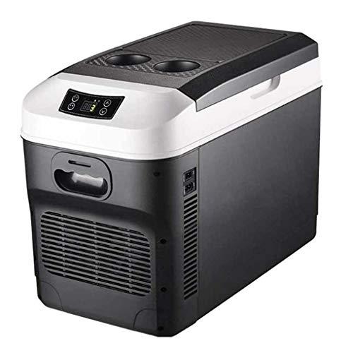 HXCLYQ Nevera Portátil Eléctrica (28litros) - Mini Congelador Frigorífico Pequeño, Funciona con CA O CC - Nevera Rígida,para Coche Camión Camper Viaje (28 litros)
