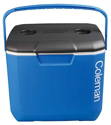 Coleman Cool Box 30QT - Nevera portátil, Enfriador de Alto Rendimiento, Capacidad de 28 litros, Gran refrigerador de Alto Rendimiento, Ideal para Bebidas