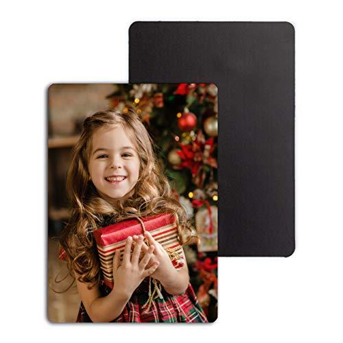 imán con Foto Personalizado /Imanes Flexibles Personalizados (Tamaño 7x10cm Pack de 8 Imanes)