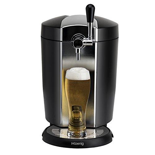 H. Koenig bw1778 de cerveza con refrigeración para todos los 5 l universal barriles, 65 W, color negro