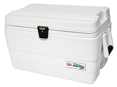 Igloo Marine Ultra 54 Nevera, 51 litros, Blanco