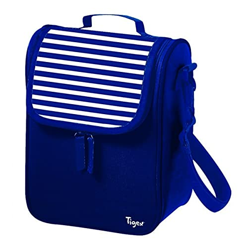Tigex Bolsa Isotérmica de Gran Capacidad   Gris y Azul