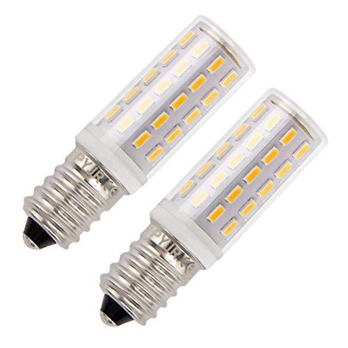 Bombillas para nevera, PYJR E14 Bombilla LED 5W Equivalente 50W, Blanco Cálido 3000K 100-240V, Magnifica luz y ausencia de calor, 2 unidades