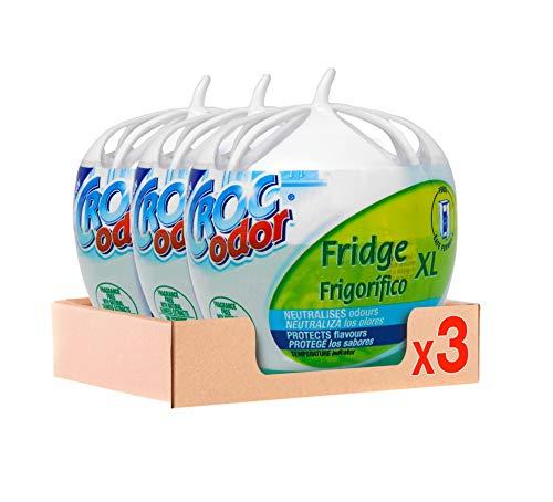 Croc Odor Desodorante Frigorifico Grande XL 140g Pack de 3, Total: 420 g