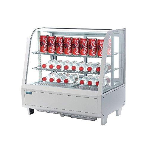 Polar - Alimento refrigerado para encimera (100 L), color blanco