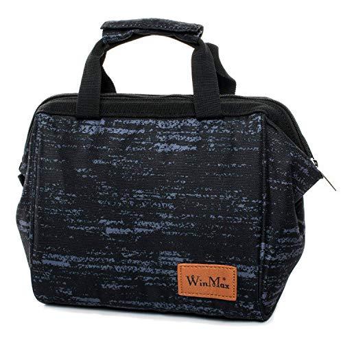 winmax - Bolsa isotérmica para almuerzo, portátil, bolsa de almuerzo, bolsa nevera para niños, trabajo, pícnic, comida, protección de frescor